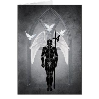 Guarding Heaven's Gate Greeting Card