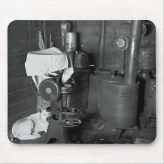 Guarding the Cream Separator, 1936 Mouse Pad