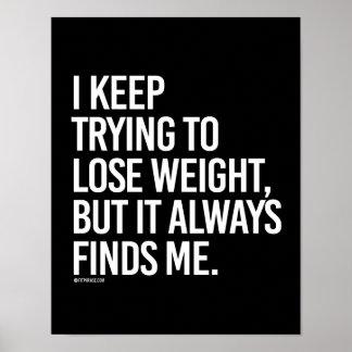 Guardo el intentar perder el peso pero encuentra póster