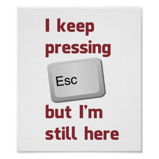 Guardo el presionar de la tecla de escape pero tod impresiones