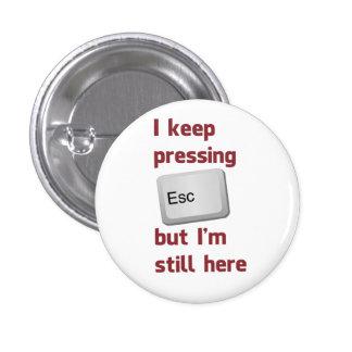 Guardo el presionar de la tecla de escape pero tod pin