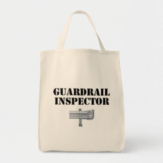 Guardrail Inspector! Grocery Tote Bag