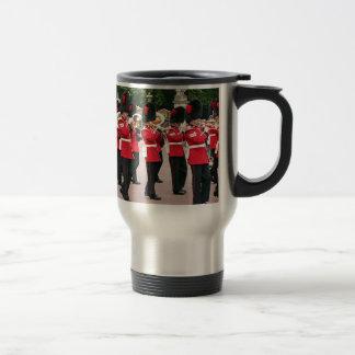 Guards Band,Buckingham Palace, London, England Travel Mug