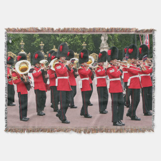 Guards Band, London Throw Blanket