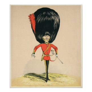 Guardsman from the British Army Poster