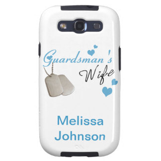 Guardsman s Wife Samsung Galaxy S Case Galaxy S3 Case