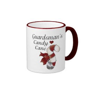 Guardsmans Candy Cane Mugs