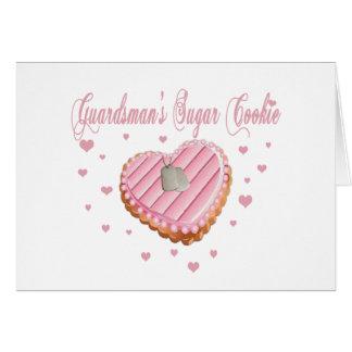 Guardsman's Sugar Cookie Card