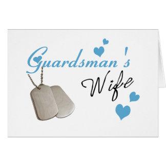 Guardsman's Wife Card