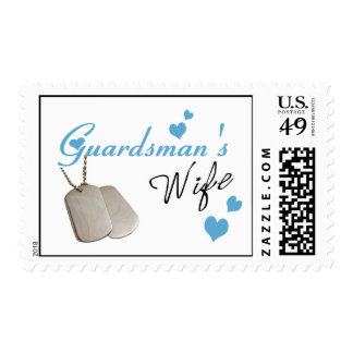 Guardsman's Wife Postage Stamps
