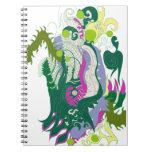 Guarida de los dragones (en colores pastel) libros de apuntes