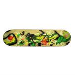Guarida de los dragones (pergamino) skate board