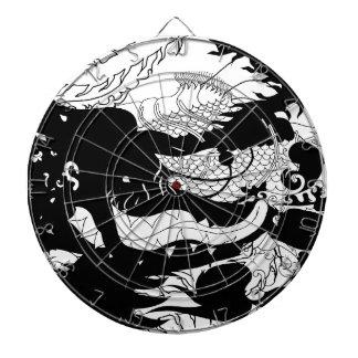 Guarida de los dragones (silueta) tablero dardos