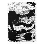 Guarida de los dragones (silueta) iPad mini cárcasa