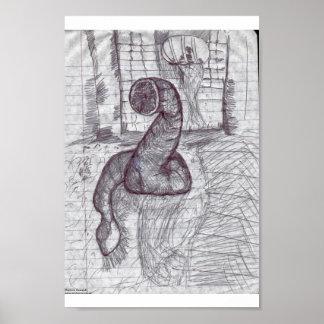 Guarida del wurm impresiones