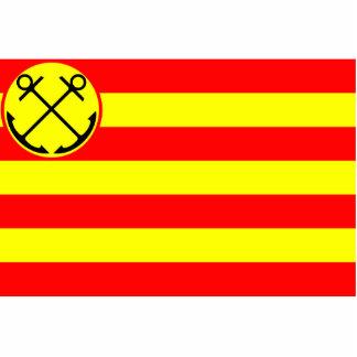Guarida Helder, bandera holandesa Fotoescultura Vertical