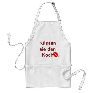 Guarida Koch del sie de Küssen Delantales