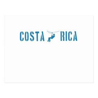 Guarnición de la cremallera de Costa Rica Tarjetas Postales