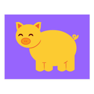 Guarro amarillo lindo tarjeta postal