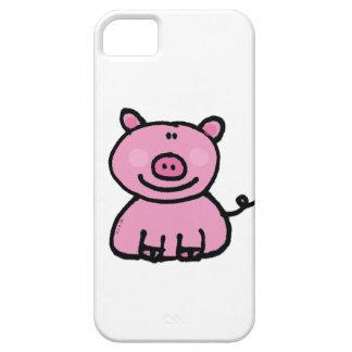 guarro rosado funda para iPhone SE/5/5s
