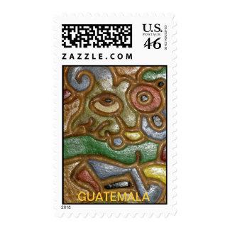 Guatemala Art Postage