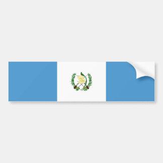 Guatemala/bandera guatemalteca pegatina para auto