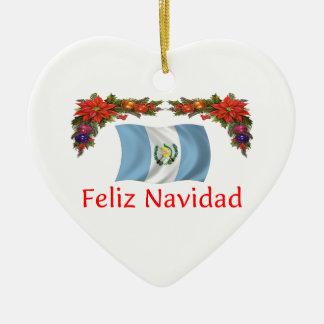 Guatemala Christmas Christmas Tree Ornament