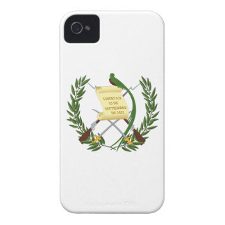 Guatemala Coat of Arms iPhone 4 Case-Mate Cases