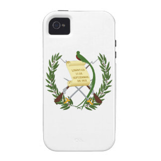 Guatemala Coat of Arms iPhone 4 Cases