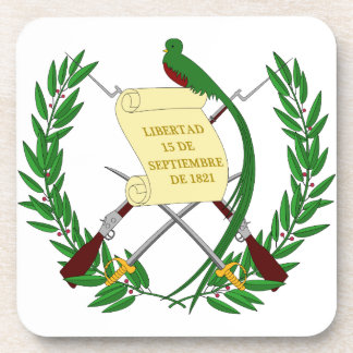 Guatemala Coat Of Arms Drink Coaster