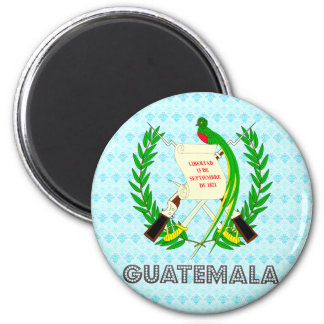 Guatemala Coat of Arms Refrigerator Magnet