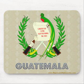 Guatemala Coat of Arms Mouse Pad
