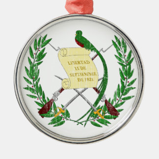 Guatemala Coat Of Arms Ornaments