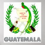 Guatemala Coat of Arms Poster