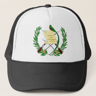 Guatemala Coat Of Arms Trucker Hat