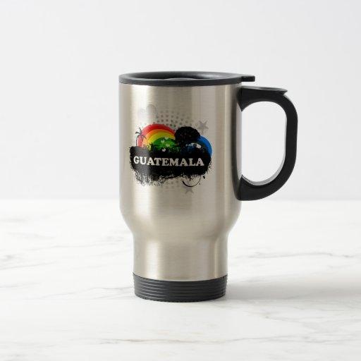 Guatemala con sabor a fruta linda tazas