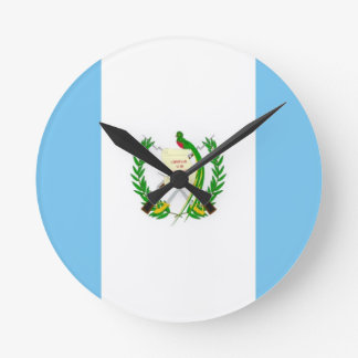 Guatemala country flag clock