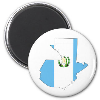 guatemala country flag map shape silhouette symbol magnet