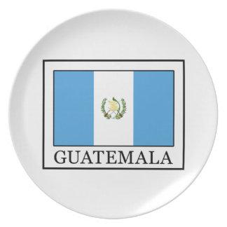 Guatemala Dinner Plate