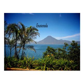 Guatemala, el paisaje hermoso de la naturaleza tarjeta postal