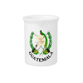 GUATEMALA - emblem/flag/coat of arms/symbol Beverage Pitcher