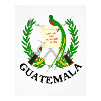 GUATEMALA - emblem/flag/coat of arms/symbol Letterhead