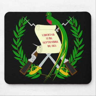 guatemala emblem mouse pad