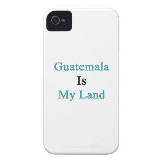 Guatemala es mi tierra iPhone 4 Case-Mate cobertura