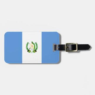Guatemala Flag Bag Tag