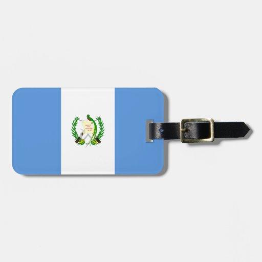Guatemala Flag Bag Tags