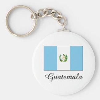 Guatemala Flag Design Keychain