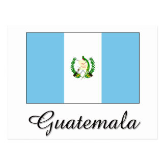 Guatemala Flag Design Postcard
