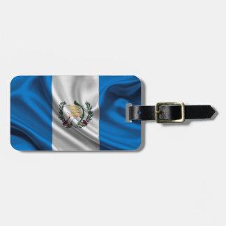 Guatemala Flag Fabric Luggage Tag