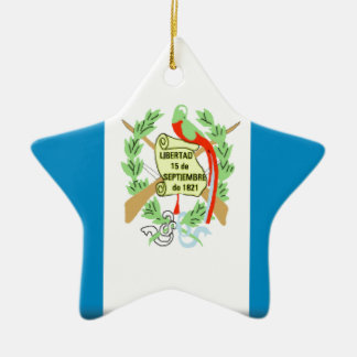 Guatemala Flag Christmas Tree Ornaments